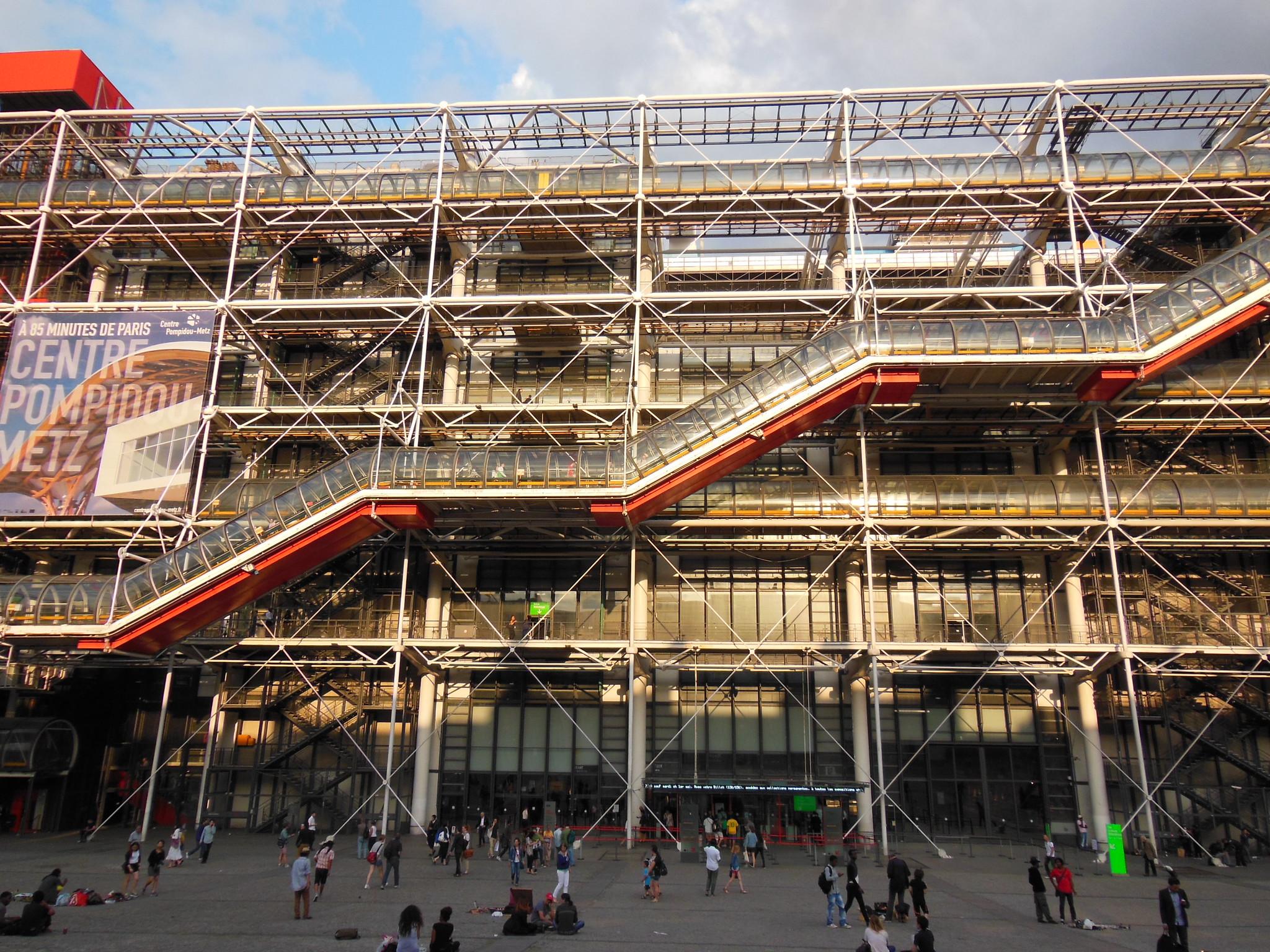 Museo Pompidou.Senor Del Biombo Analisis Y Comentario De Museo Pompidou Renzo