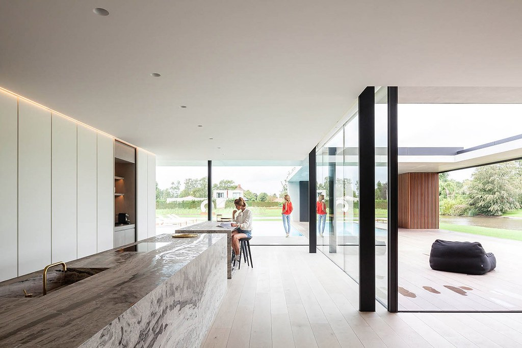 Bachelor pad design by Govaert & Vanhoutte Architects near Ghent Sundeno_01