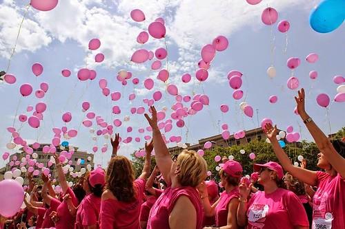notte rosa e lotta ai tumori femminili