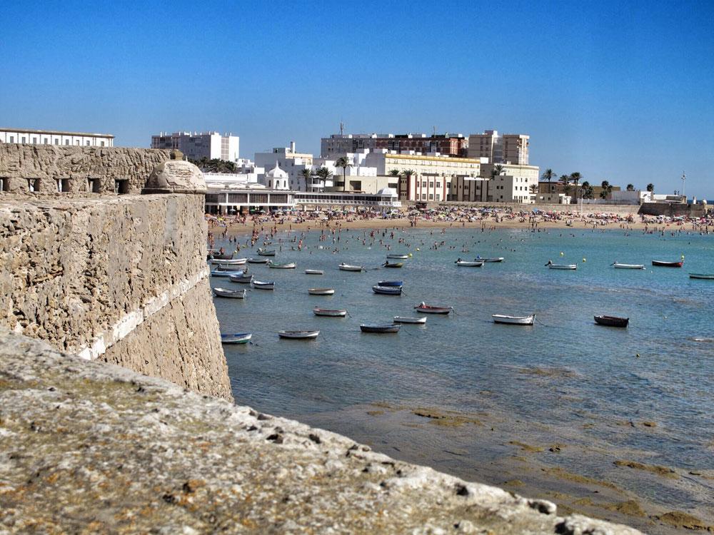 castillo santa catalina_cadiz_ingeniero_cristobal rojas_arquitectura defensiva_la caleta