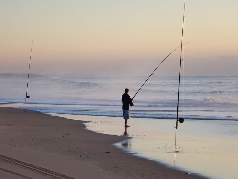 Rainbow Beach Fisherman
