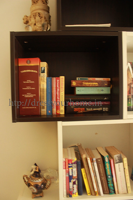 customized large modular book shelf