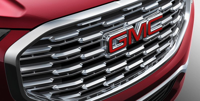 2018 All-New GMC Terrain Denali Grille