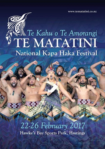 Te Matatini 2017 Poster