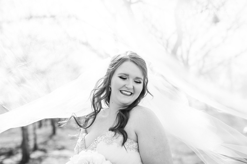 the milestone bridal photos