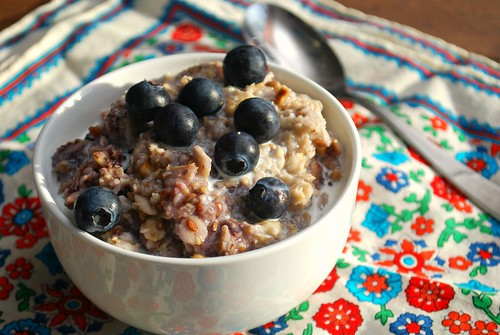 Instant Pot: Double Berry Oatmeal
