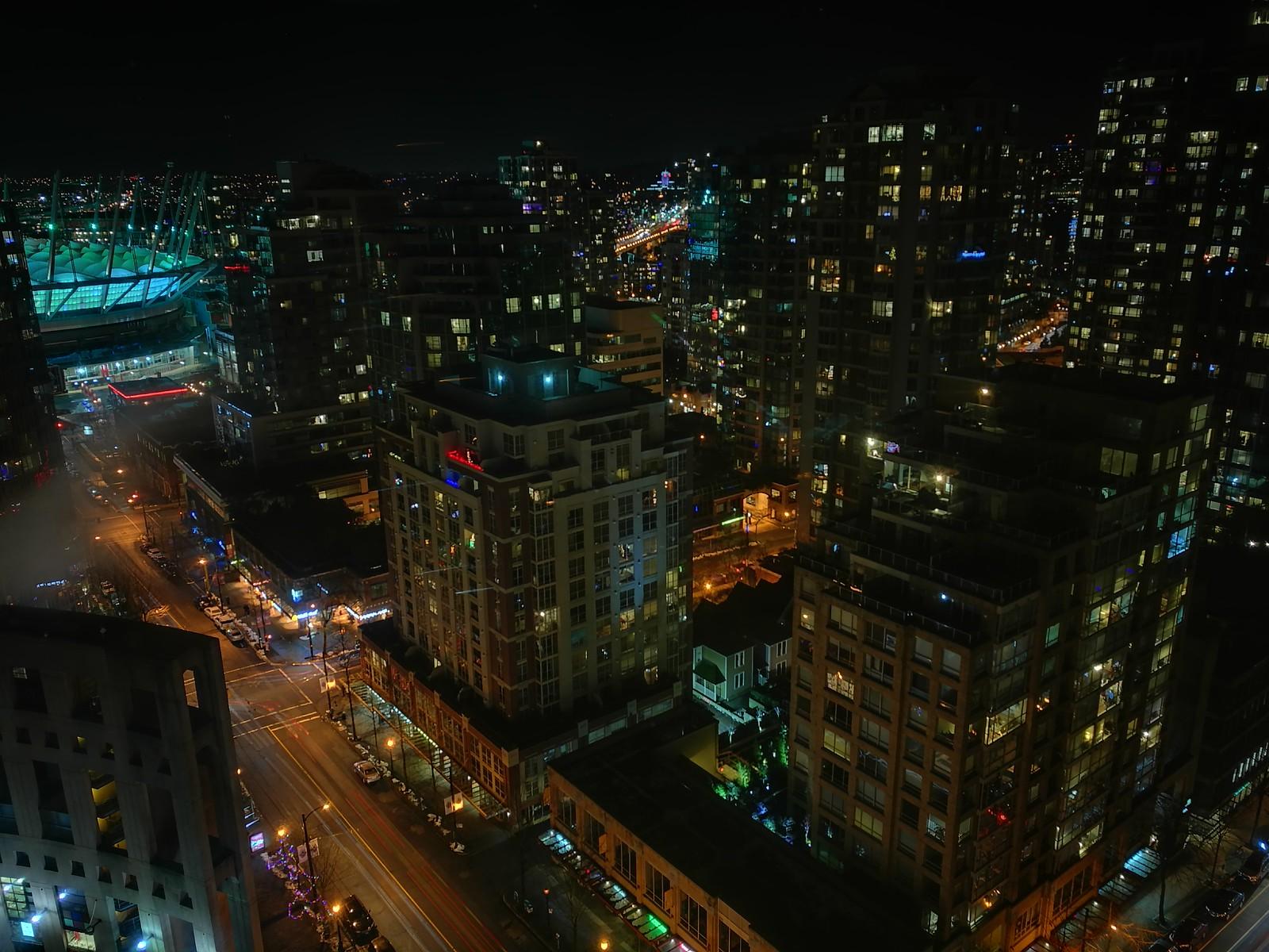 Robson at Night