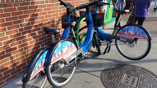 Baltimore Bikeshare bikes locked legally but not at a station | by BeyondDC