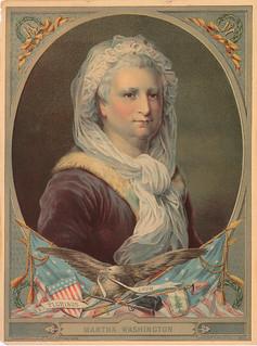 Martha Washington lithograph