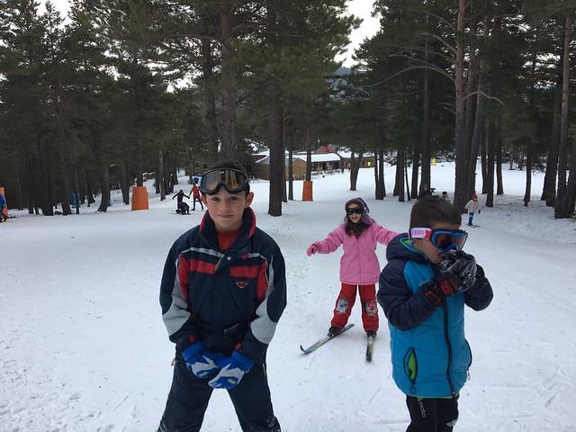 2 primers dies d'esquí