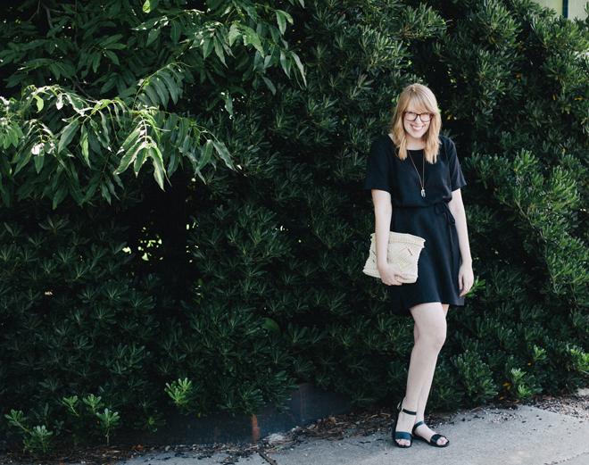 loft black dress8