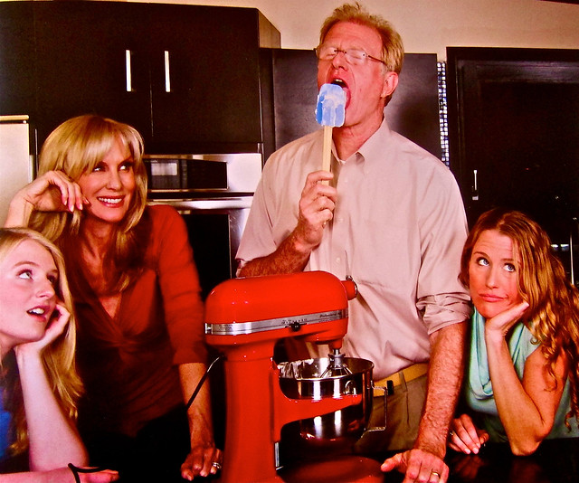 the ed begley j family cooking
