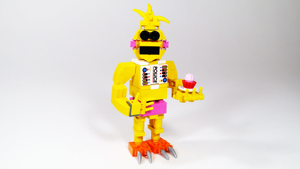 Lego Toy Chica Fnaf See How To Build It Www Youtube