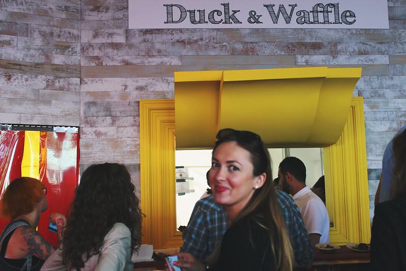 Taste of London Duck & Waffle