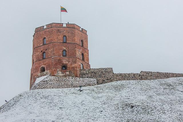 Torre Gediminas, Vilna, capital de Lituania