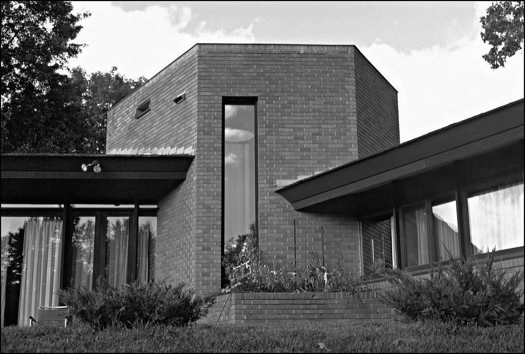 paul olfelt house 1958 saint louis park mn frank lloyd flickr. Black Bedroom Furniture Sets. Home Design Ideas