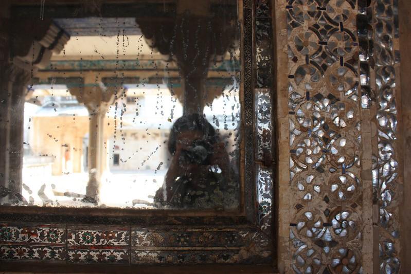 Индия,зеркальная комната