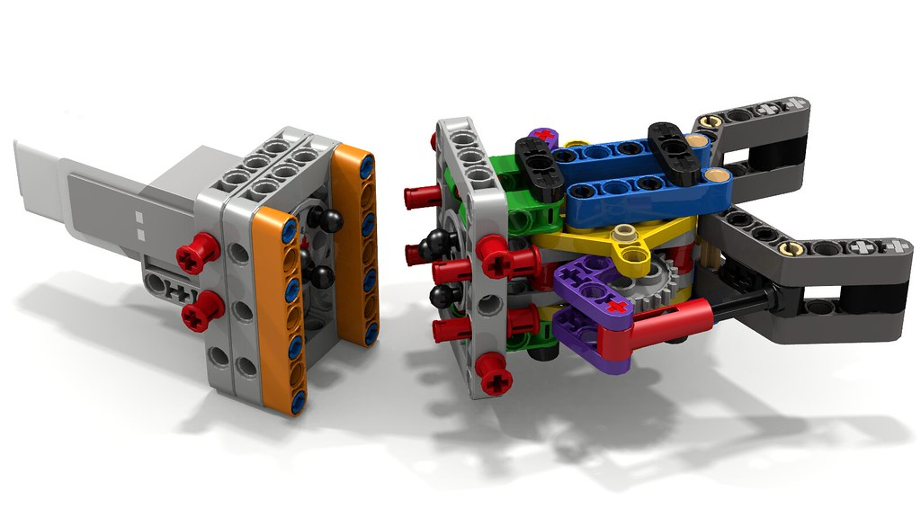 Variation of Lego Grabber/ Gripper/ Claw | This is a variati… | Flickr