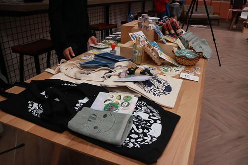 與嶺南貓關注組合辦福袋企劃的產品