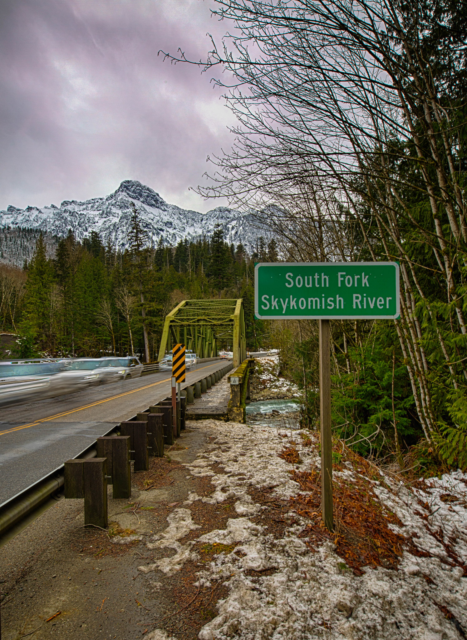 Skykomish River (Color)