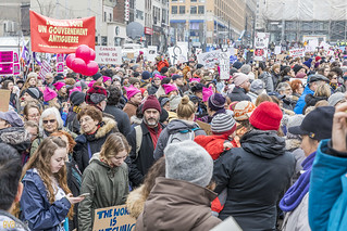 manif des femmes women's march montreal 64 | by Eva Blue