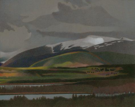 Dillon Reservoir. Artist Dan Miller