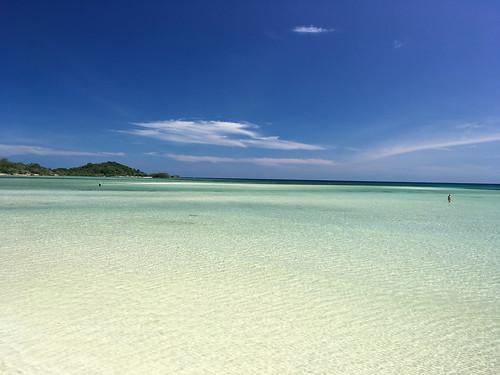 今日のサムイ島 2月8日 キター!チャウエンビーチ北端