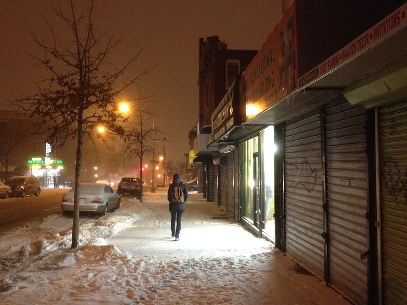 New York. Brooklyn. Rockaway Avenue