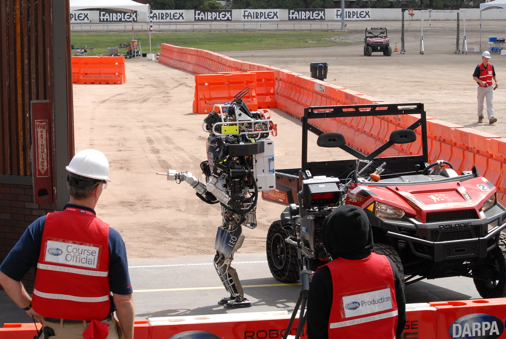 DARPA Robotics Challenge Finals