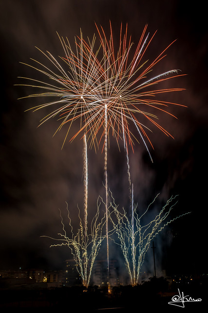 Fuegos Artificiales Sant Joan Despí 2015