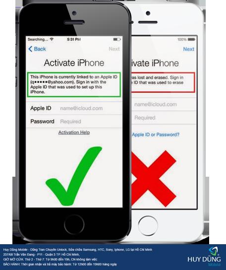 """Nhờ những cách gì để """"giải cứu"""" iPhone, iPad bị lock iCloud ở TP.HCM"""