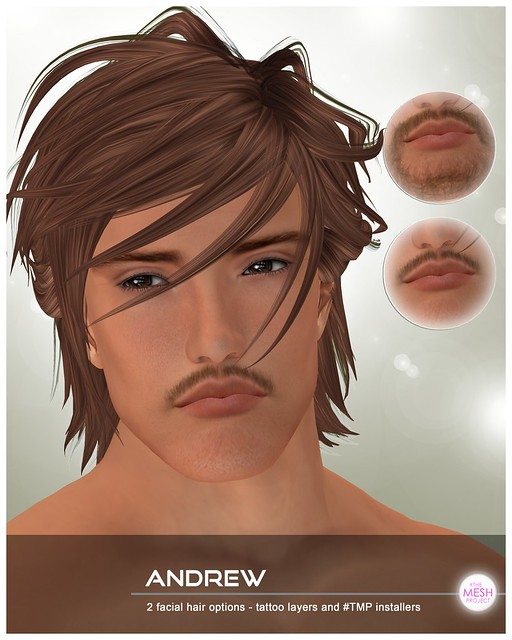 [DBF] Andrew facial hair