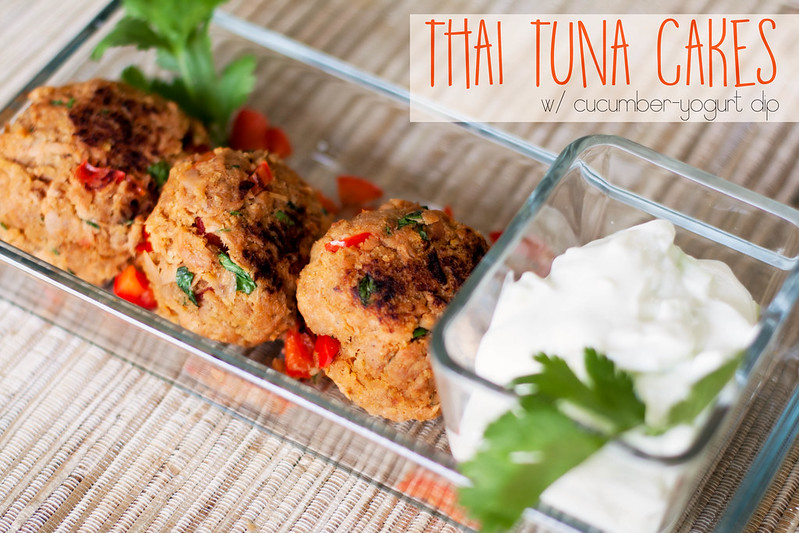 cute & little blog | thai tuna cakes recipe how-to tutorial (freezer friendly) | #TunaStrong
