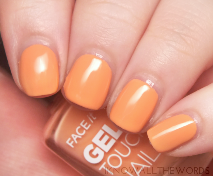 the face shop face it gel touch nails OR202