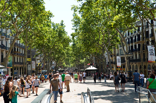 Around Las Ramblas