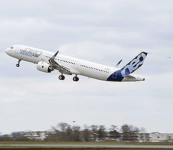 Airbus A321neo TAKE OFF (Airbus)