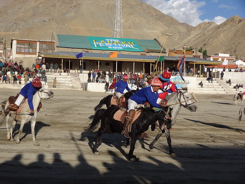 Polo match, Leh