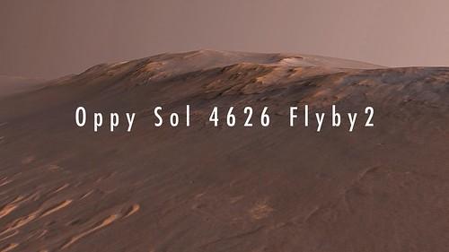 Oppy Sol 4626 Flyby2