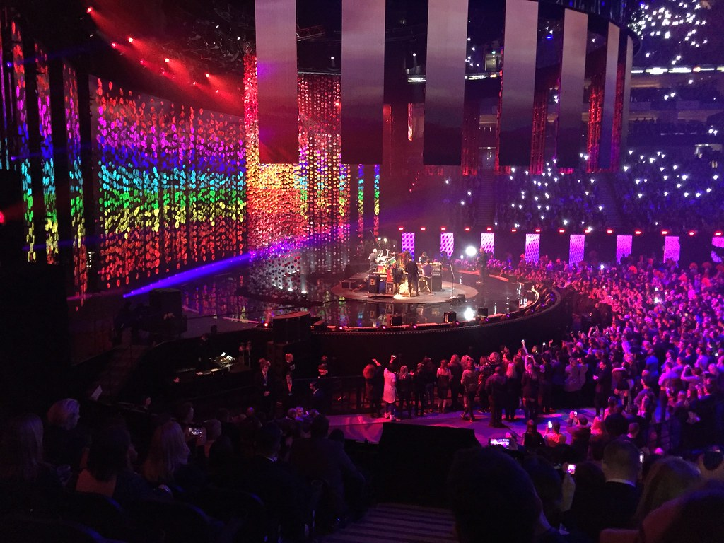 Coldplay at the BRIT Awards 2016