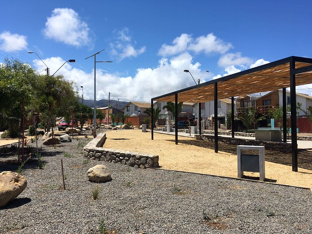 Plaza Antonella |  Los Vilos | Minera Los Pelambres