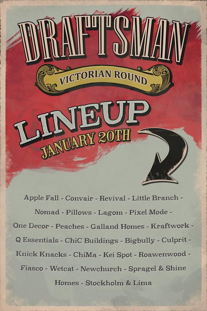 Draftsman Victorian Poster
