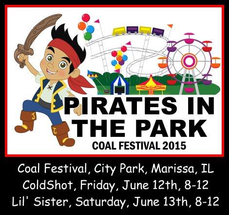 Marissa Coal Festival 6-12, 6-13-15