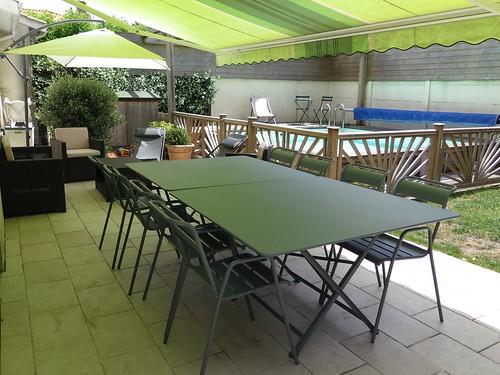 vive l 39 t le soleil la terrasse et notre nouveau salon de jardin ma p 39 tite cuisine. Black Bedroom Furniture Sets. Home Design Ideas