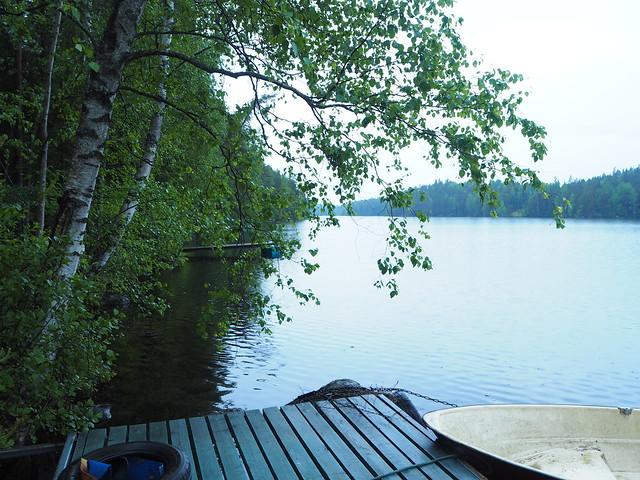 mökki padasjoki2JPG,mökki padasjoki, mökki, cottage, kesä, summer, kesämökki, summer cottage, padasjoki, arrakoski, juhannus, midsummer, kesä, summer, summerhouse, laituri, järvi, vesi, vene, boat, puut, luonto ,nature, trees, koivut, vihreä,