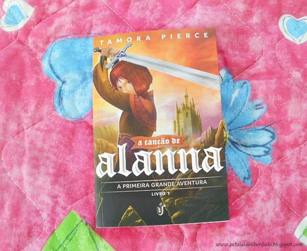 Livro A canção de Alanna, Tamora Pierce, Única Editora