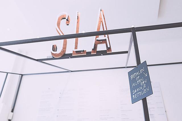 SLA, manger beau et bon à Amsterdam