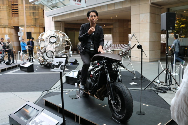 Two Yamahas, One Passion ~デザイン展2015~