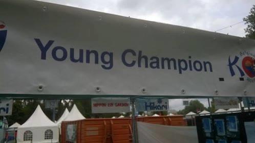 spandoek YoungChampion BKS2015
