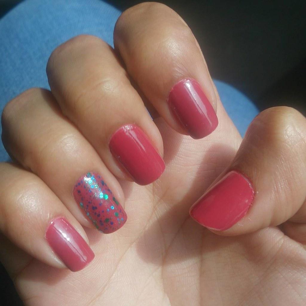 On nails today!! NewU Party Poppers in Dark Pink #m… - Flickr On nails today!! NewU Party Poppers in Dark Pink #makeupmartini #beautyblogger #bblogger #fashionblogger #fblogger #makeupblogger #chennaiblogger #howtogrownails #nailporn #nailpolish #cutepolish #nailvids #marsala #color - 웹