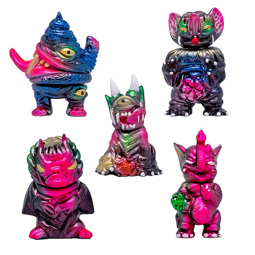 Paul Kaiju Dark Cosmos Gacha Mini  2